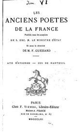 Aye d'Avignon: chanson de geste, Volume1