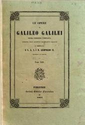 Le opere di Galileo Galilei: 13