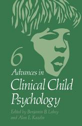 Advances In Clinical Child Psychology Book PDF