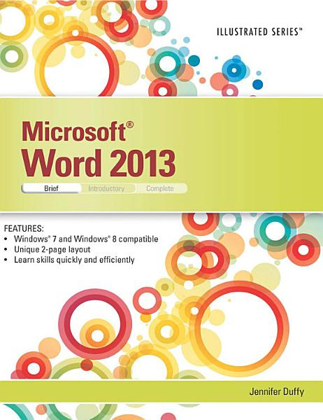 Microsoft Word 2013  Illustrated Brief PDF