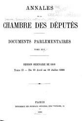 Annales de la Chambre des députés ...: Documents parlementaires ..., Volume25