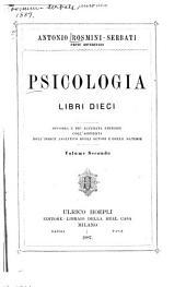 Psicologia libri dieci: Volume 2