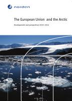 The European Union and the Arctic PDF