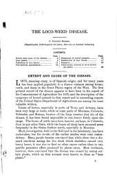 Loco Weed Disease