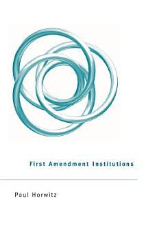 First Amendment Institutions PDF