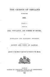 The Census of Ireland for the Year 1861: Part 1, Volume 4