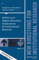 MOOCs and Higher Education: Implications for Institutional Research