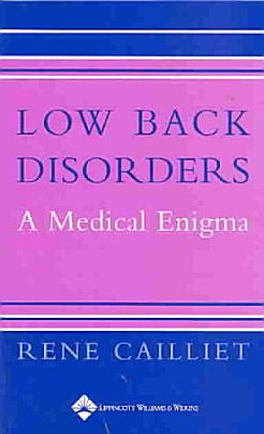 Low Back Disorders PDF