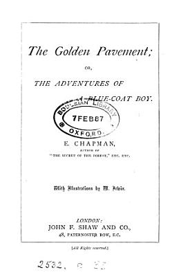 The golden pavement  or  The adventures of a Blue coat boy PDF