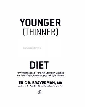 The Younger (Thinner) You Diet