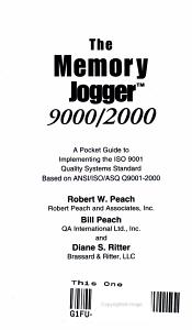 The Memory Jogger 9000 2000 PDF