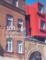 100 Great Extensions   Renovations PDF