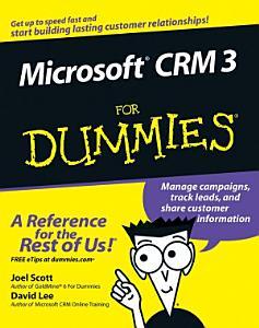 Microsoft CRM 3 For Dummies PDF