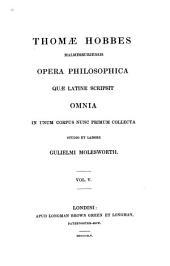 Opera Philosophica, Quae Latine Scripsit, Omnia