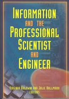 Information and the Professional Scientist and Engineer PDF