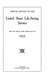Annual Report of the United States Life-Saving Service