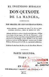 El ingenioso hidalgo Don Quixote de la Mancha: Volumen 5