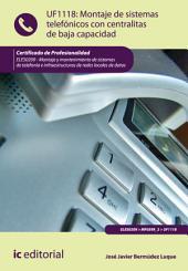 Montaje de sistemas telefónicos con centralitas de baja capacidad. ELES0209