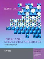 Inorganic Structural Chemistry PDF