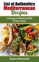 List of Authentics Mediterranean Recipes
