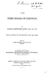 On the Fixed Signals of Railways