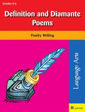 Definition and Diamante Poems: Poetry Writing