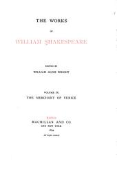 The Works of William Shakespeare: The merchant of Venice