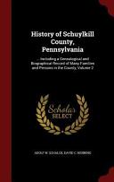 History of Schuylkill County  Pennsylvania PDF