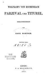 Parzival und Titurel: Band 3