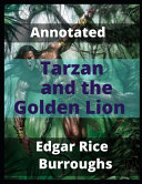 Tarzan and the Golden Lion Annotated PDF