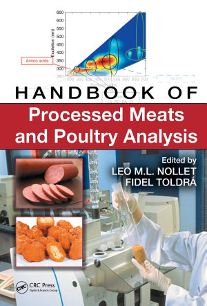 Handbook of Processed Meats and Poultry Analysis