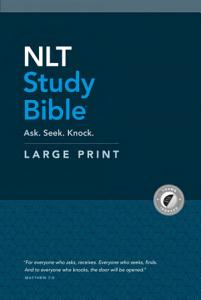 NLT Study Bible Large Print  Red Letter  Hardcover  Indexed  PDF