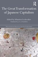 The Great Transformation of Japanese Capitalism PDF