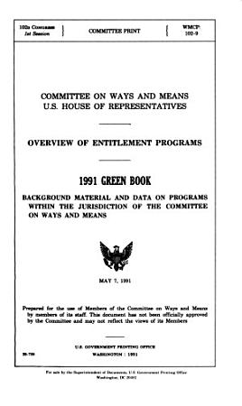 Background Material and Data on Major Programs Within the Jurisdiction of the Committee on Ways and Means PDF