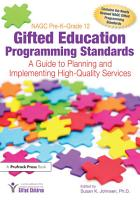 NAGC Pre K Grade 12 Gifted Education Programming Standards PDF