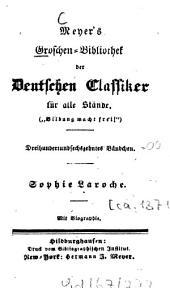 Sophie Laroche: mit Biogr