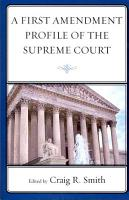 A First Amendment Profile of the Supreme Court PDF