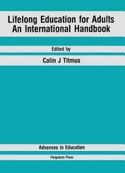 Lifelong Education For Adults Book PDF