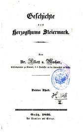 Geschichte des Herzogthums Steiermark: Band 3