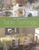 The New Book of Table Settings