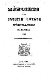 Mémoires de la Société impériale d'émulation d'Abbeville: Volume1