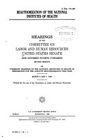 Reauthorization of the National Institutes of Health PDF