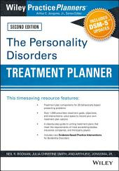 The Personality Disorders Treatment Planner: Includes DSM-5 Updates: Edition 2