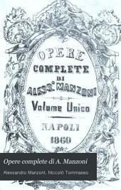 Opere complete di A. Manzoni