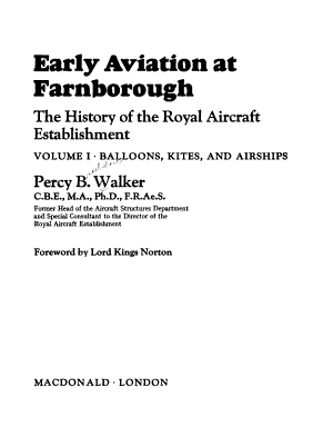 Early Aviation at Farnborough  Balloons  kites  and airships