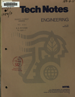 Tech Notes PDF