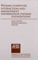 Human computer Interaction and Management Information Systems PDF