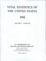 Vital Statistics of the United States PDF