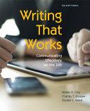Writing That Works Book PDF