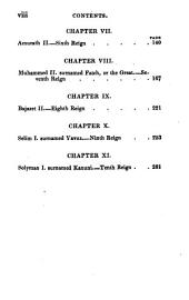History of the Ottoman Empire: From Its Establishment, Till the Year 1828, Volume 1